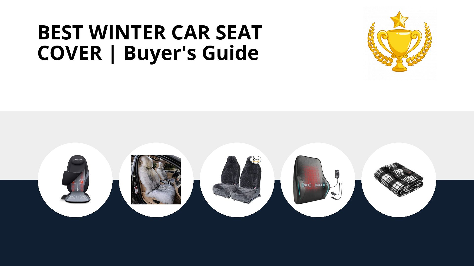 Best Winter Car Seat Cover: image
