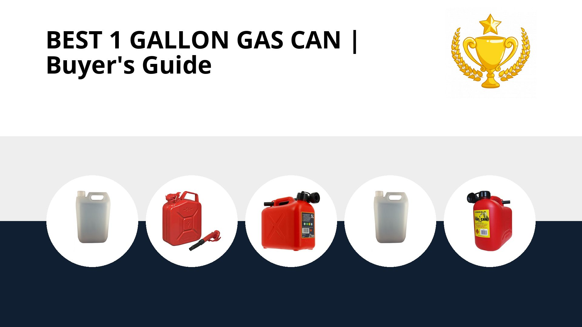 Best 1 Gallon Gas Can: image