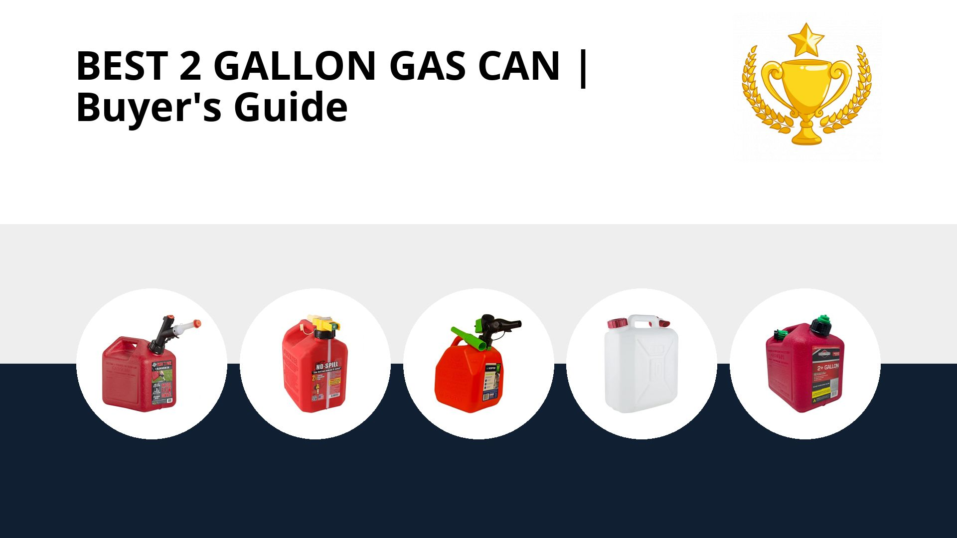 Best 2 Gallon Gas Can: image