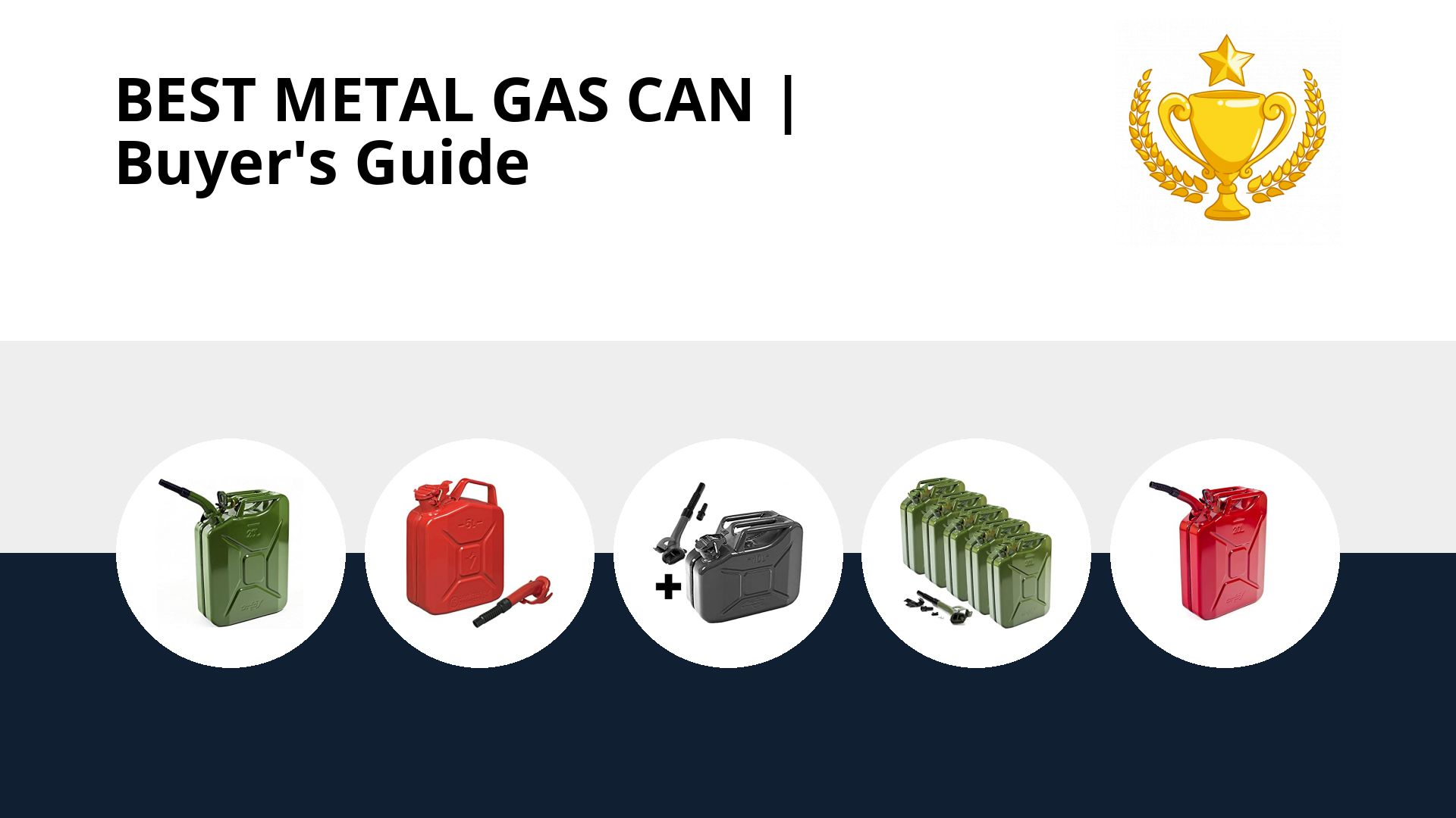 Best Metal Gas Can: image