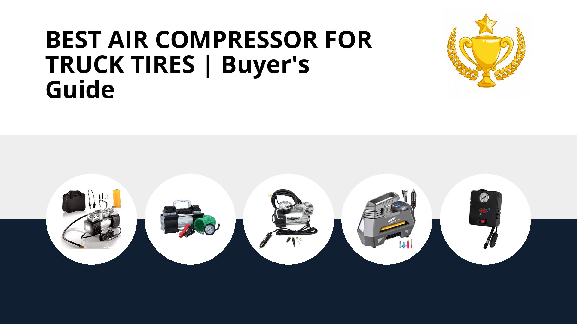 Best Air Compressor For Truck Tires: image