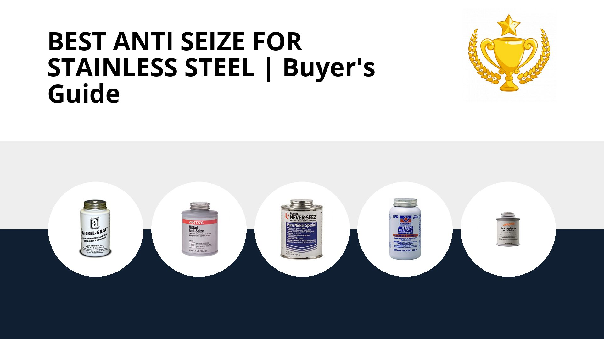 Best Anti Seize For Stainless Steel: image
