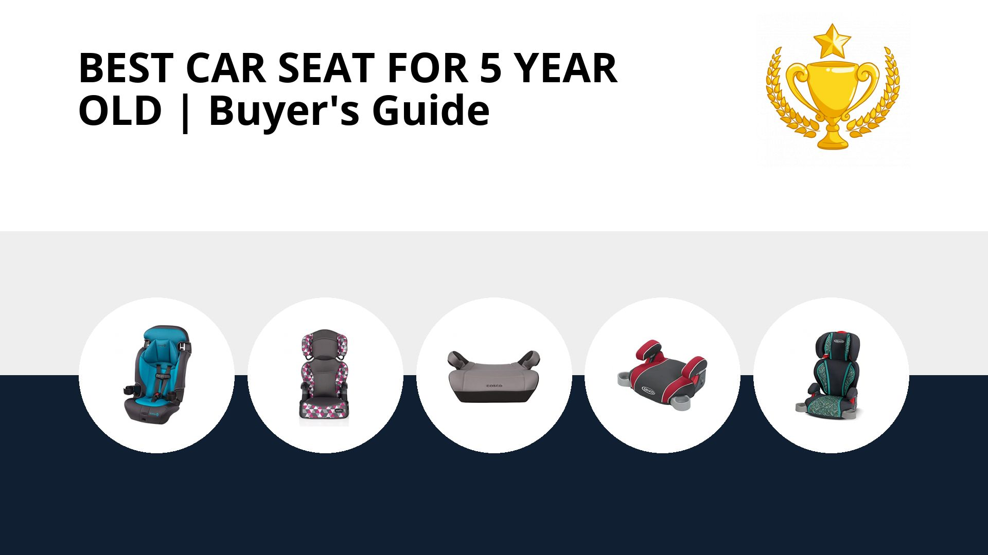 Best Car Seat For 5 Year Old: image