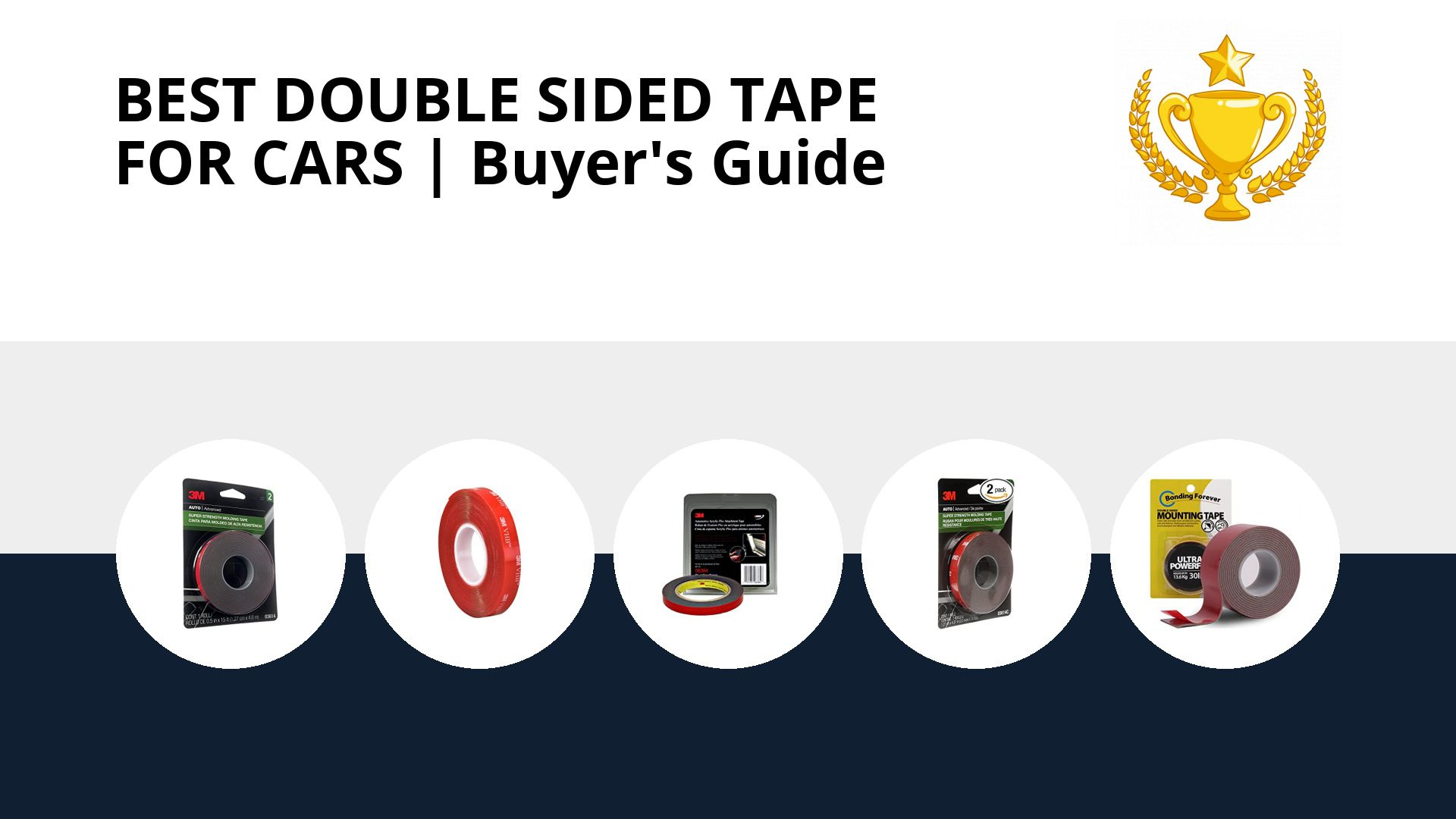 Best Double Sided Tape For Cars: image