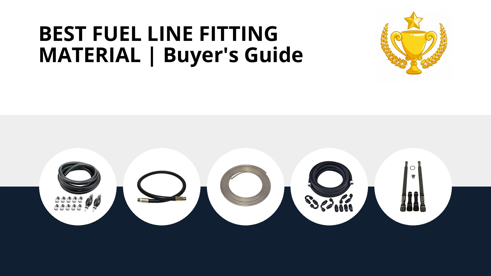 Best Fuel Line Fitting Material: image