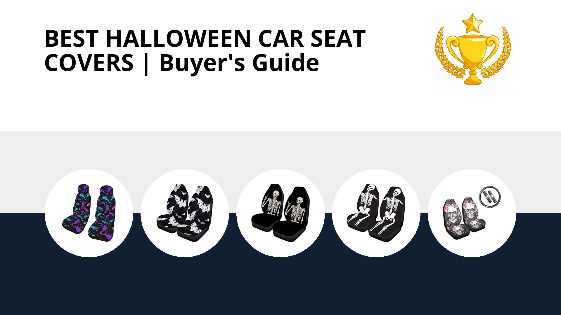 Best Halloween Car Seat Covers: image