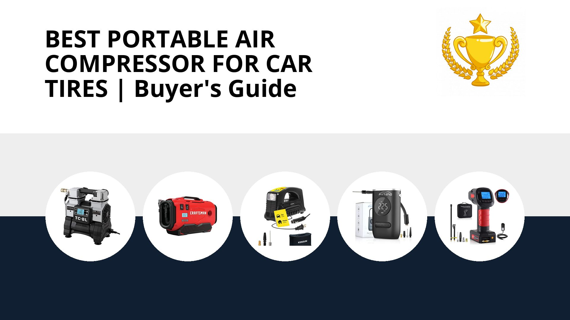 Best Portable Air Compressor For Car Tires: image