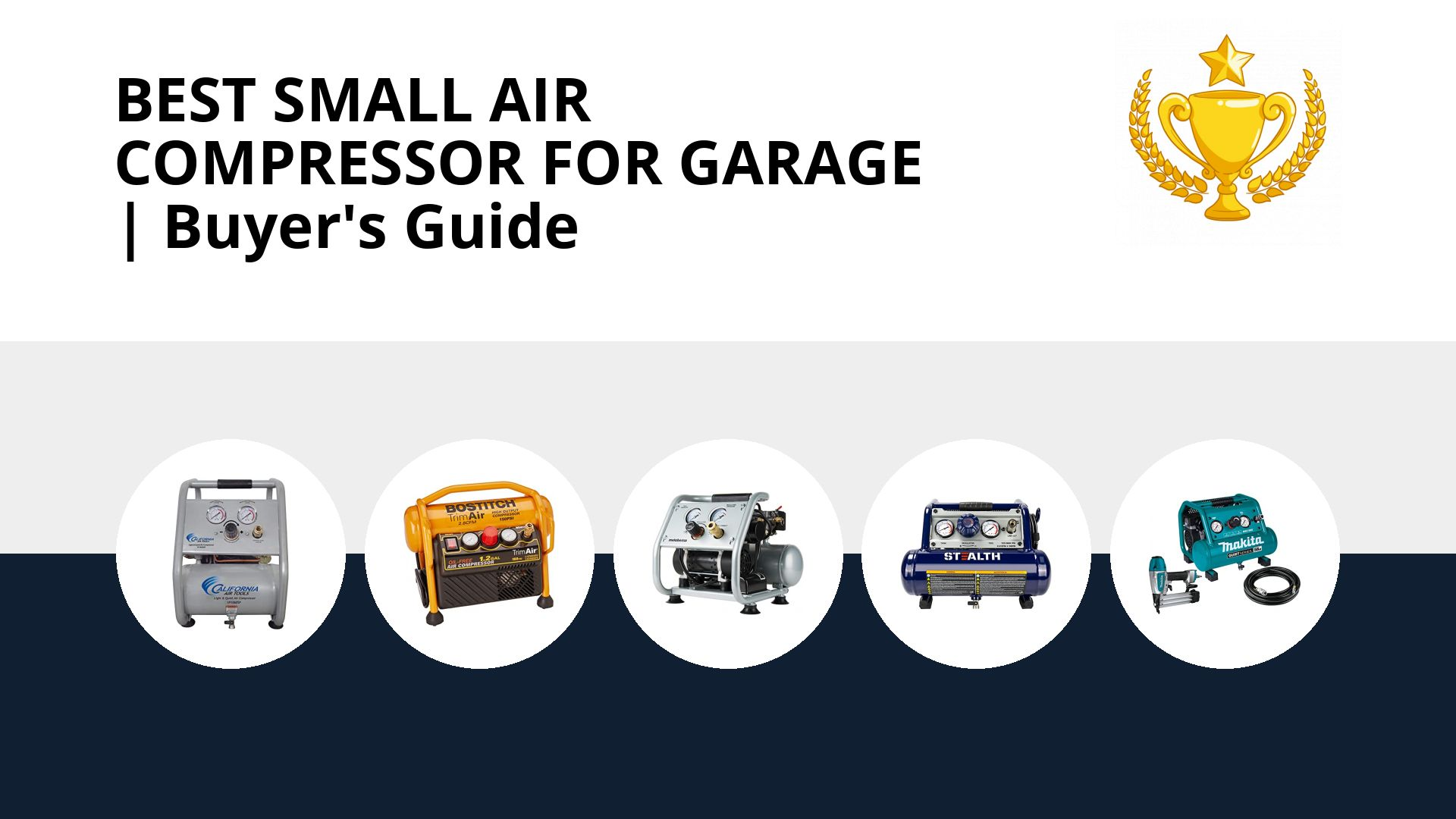 Best Small Air Compressor For Garage: image