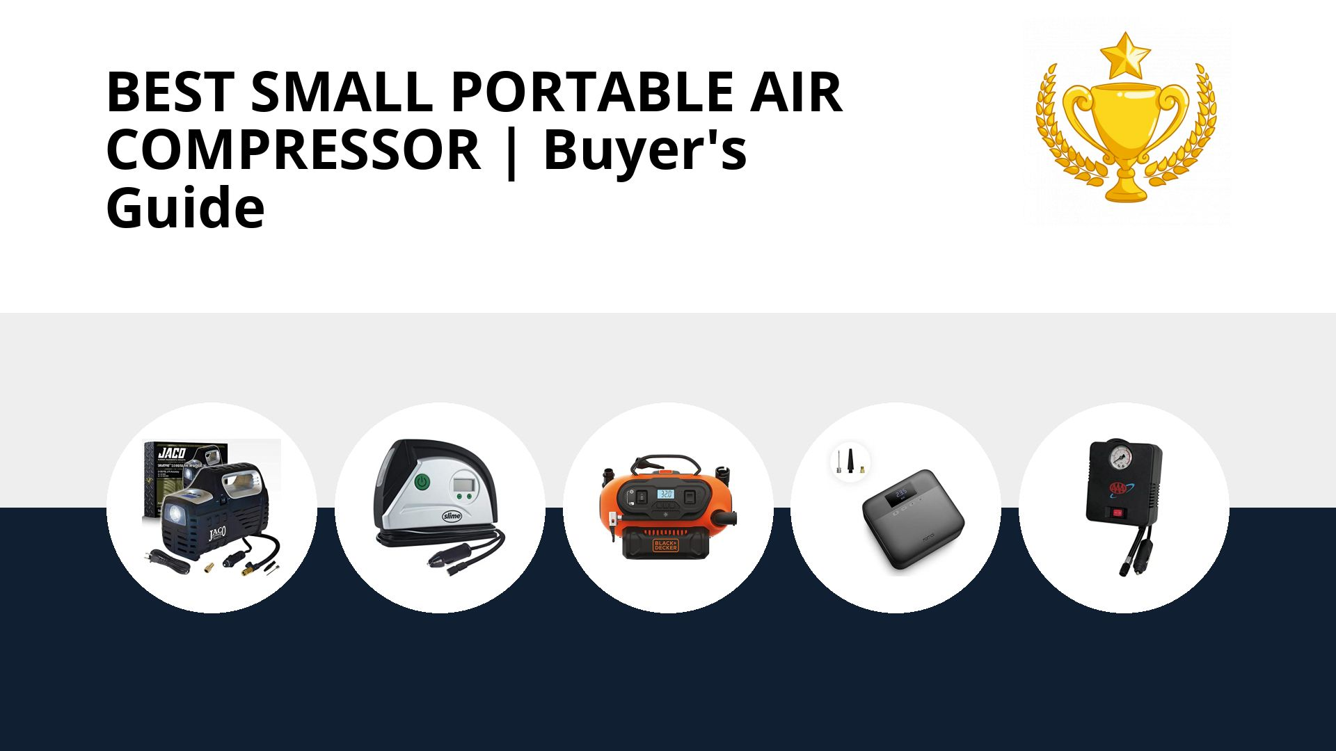Best Small Portable Air Compressor: image