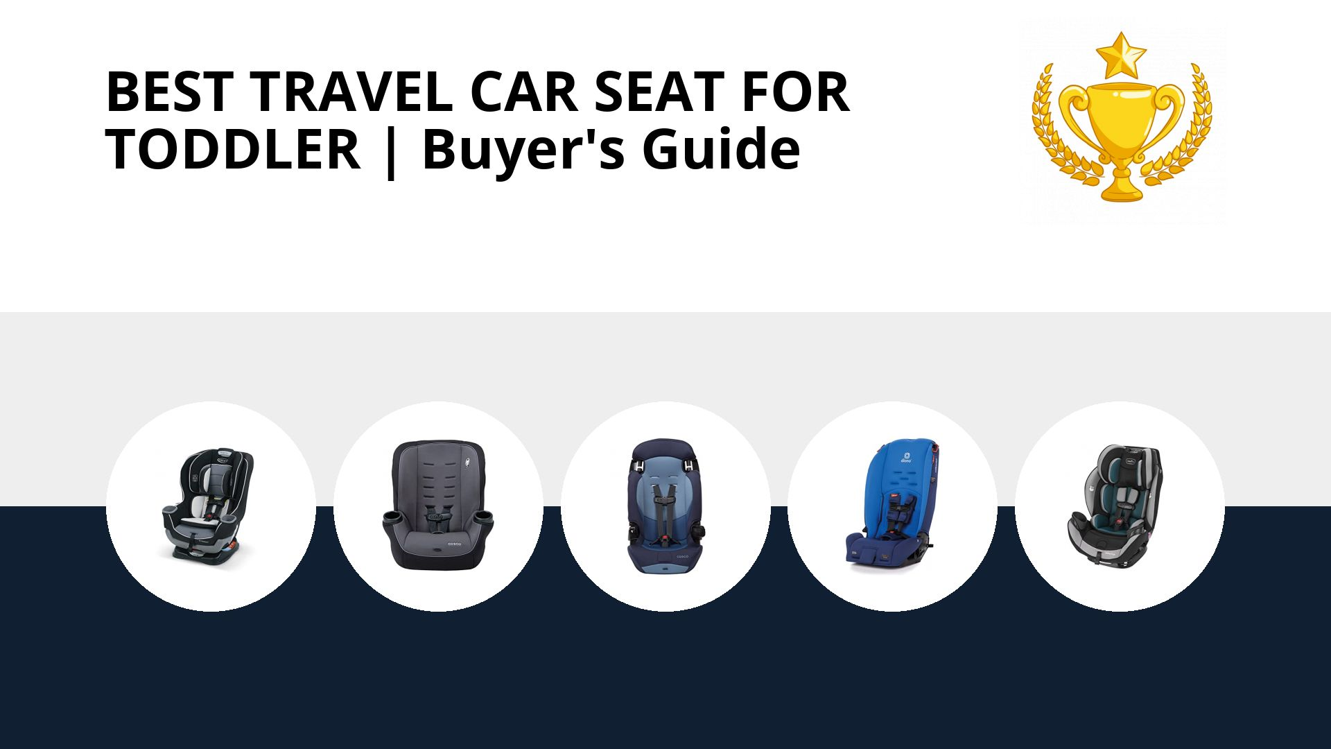 Best Travel Car Seat For Toddler: image