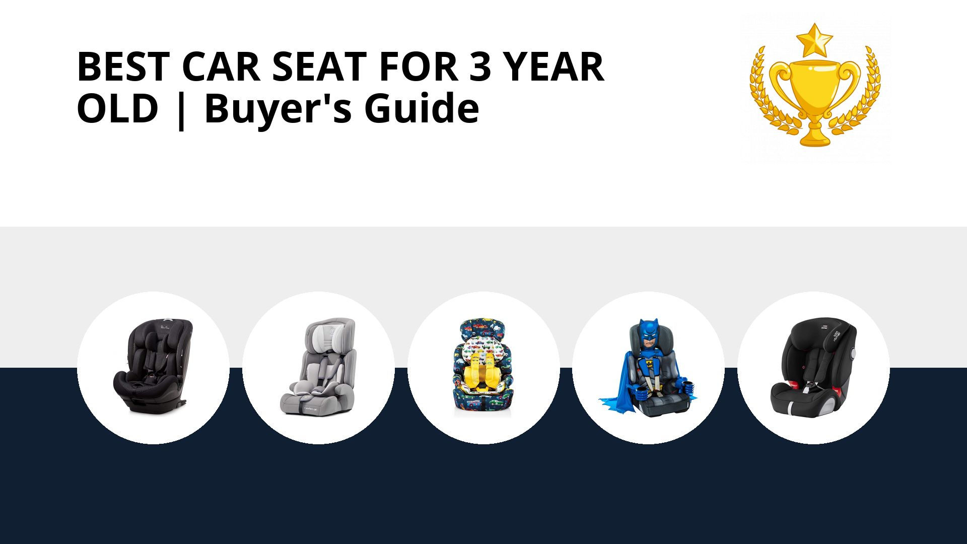 Best Car Seat For 3 Year Old: image