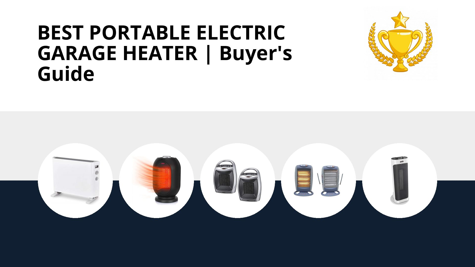 Best Portable Electric Garage Heater: image
