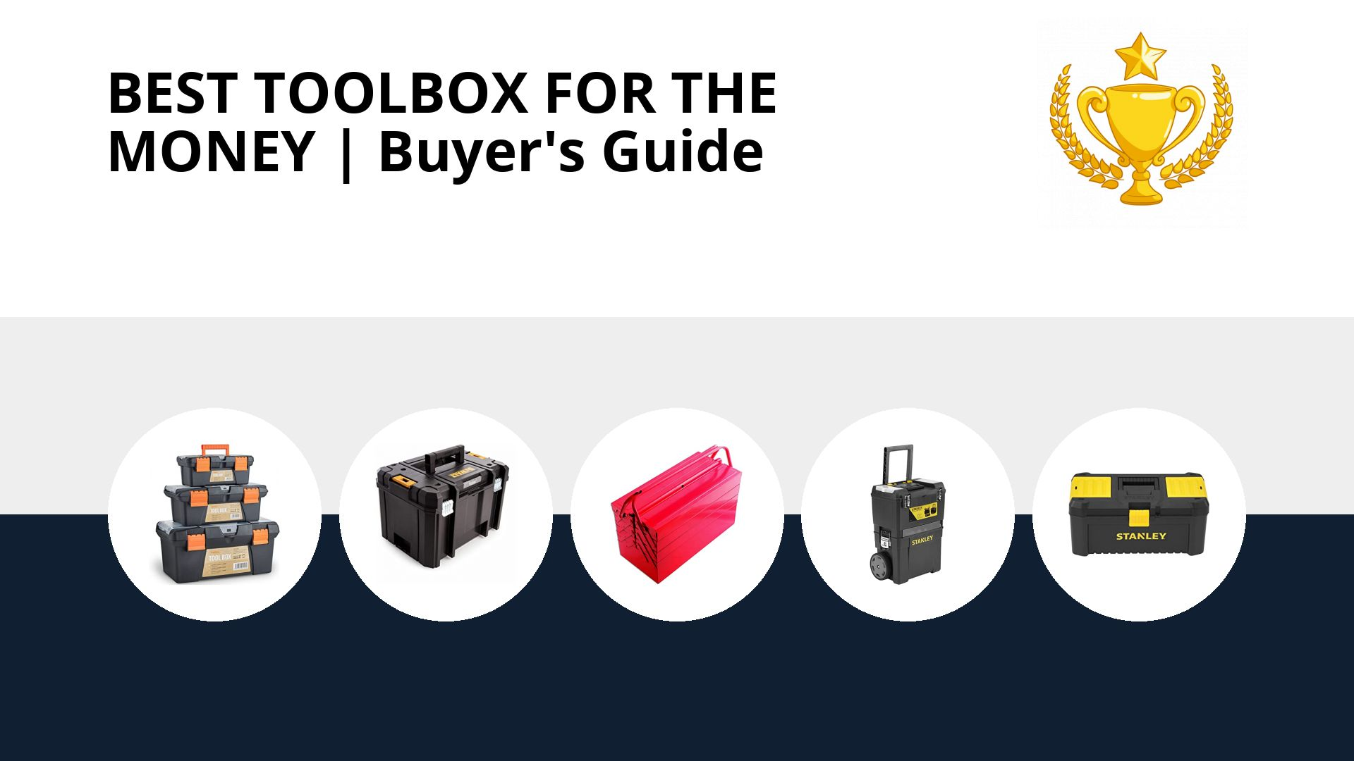 Best Toolbox For The Money: image